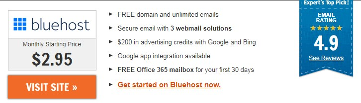 Bluehost Webmail Login Best Hosting